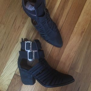 Jeffrey Campbell Ibiza Last Black Boots 7.5